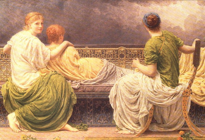 Lightning And Light 1892 | Albert Moore | Oil Painting