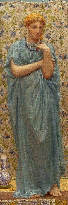 Marigolds 1877 | Albert Moore | Oil Painting