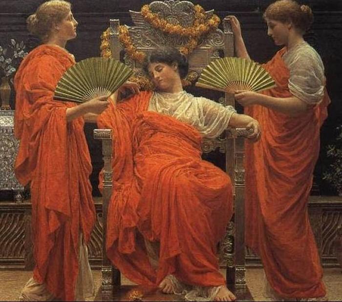 Midsummer 1887 | Albert Moore | Oil Painting