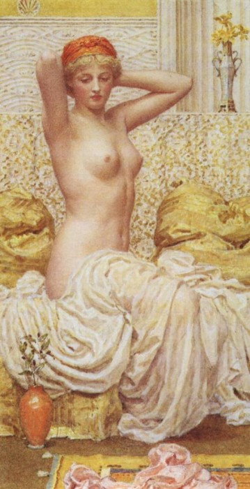 Myrtle 1886 | Albert Moore | Oil Painting
