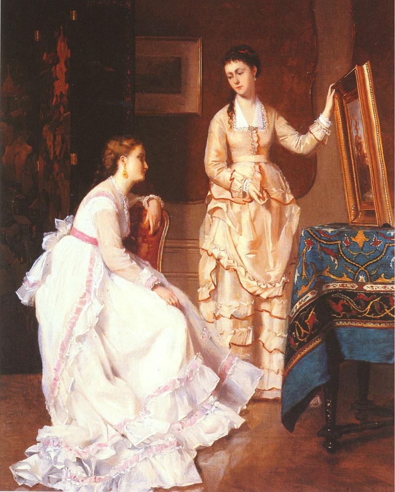Elegant Connoisseurs | Albert Roosenboom | Oil Painting