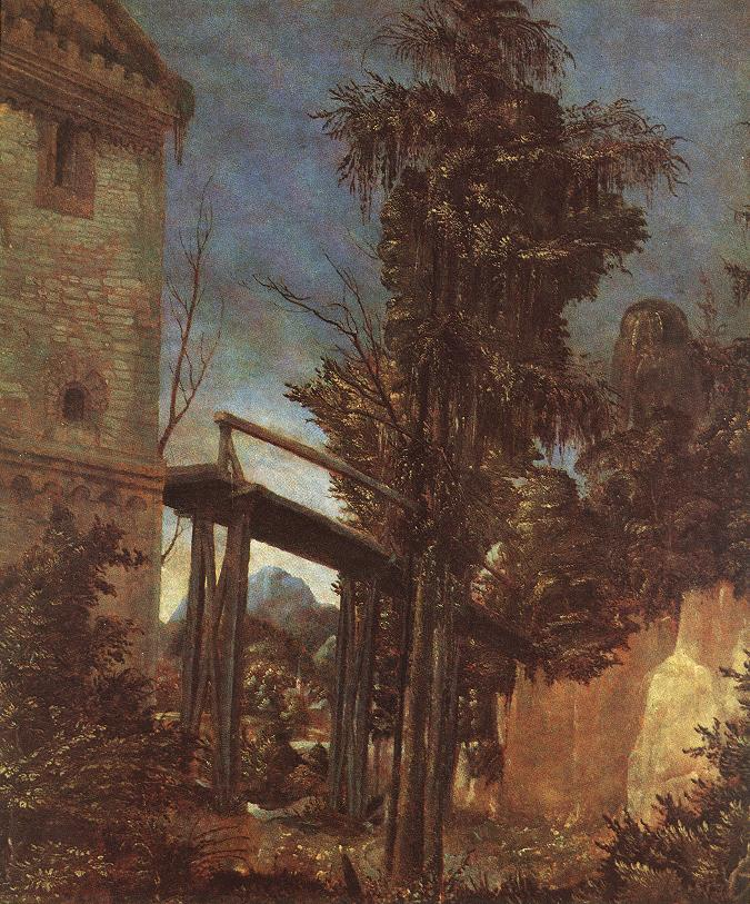 Landscape With Path | Albrecht Altdorfer | Oil Painting