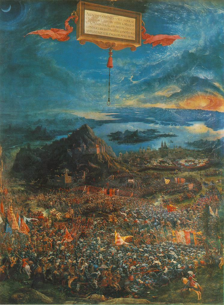 The Battle Of Alexander | Albrecht Altdorfer | Oil Painting