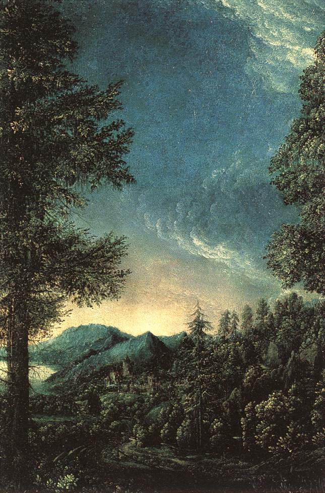 The Danube Valley Near Regensburg | Albrecht Altdorfer | Oil Painting