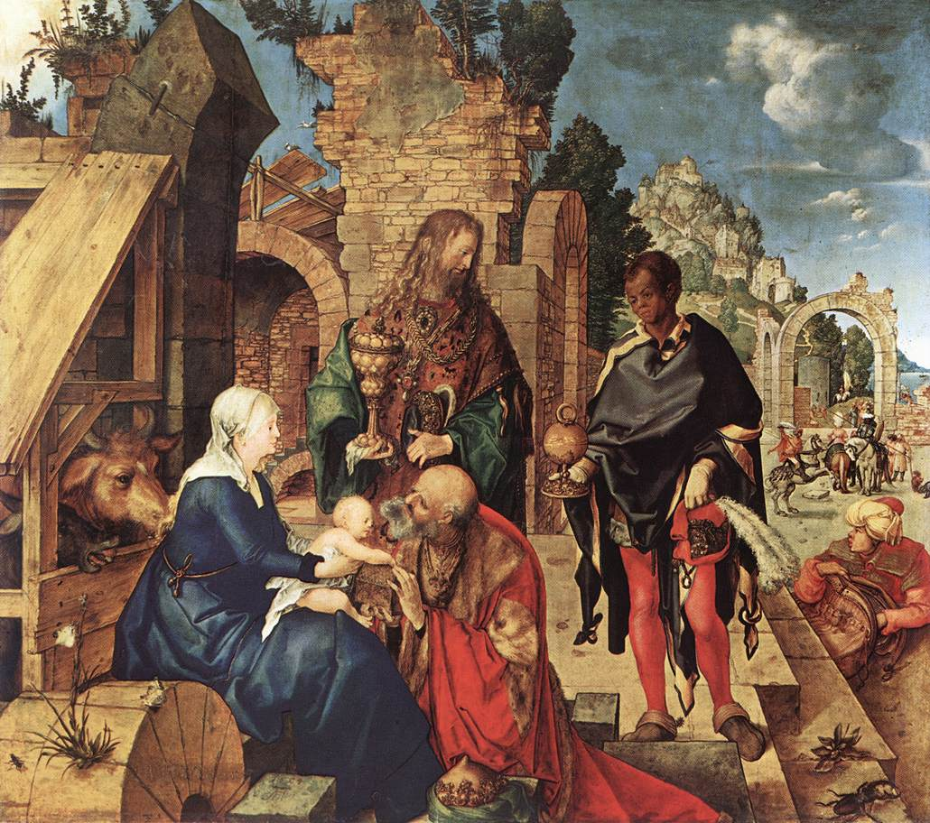 Adoration Of The Magi1504 | Albrecht Durer | Oil Painting