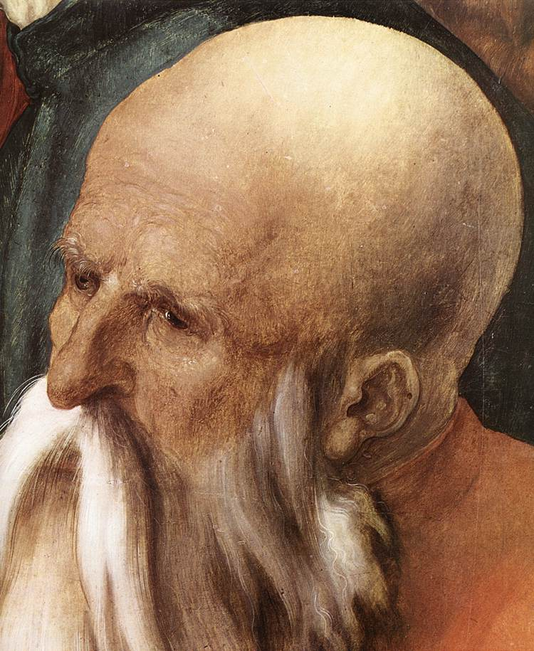 Christ Among The Doctors (Detail) 1 1506 | Albrecht Durer | Oil Painting