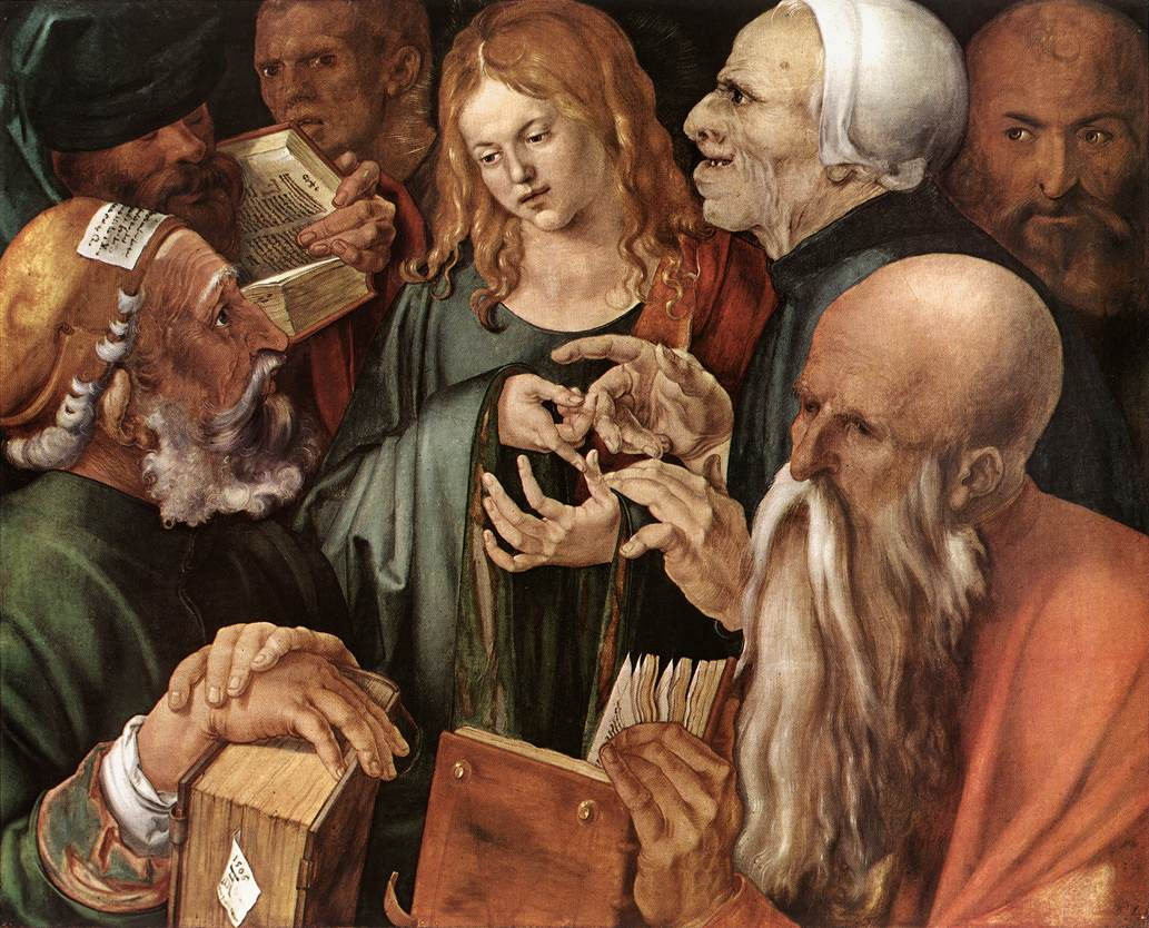 Christ Among The Doctors 1506 | Albrecht Durer | Oil Painting