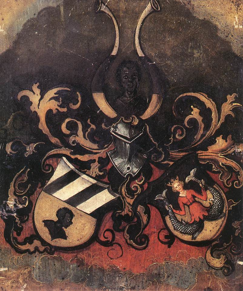 Combined Coat Of Arms Of The Tucher And Rieter Families 1499 | Albrecht Durer | Oil Painting