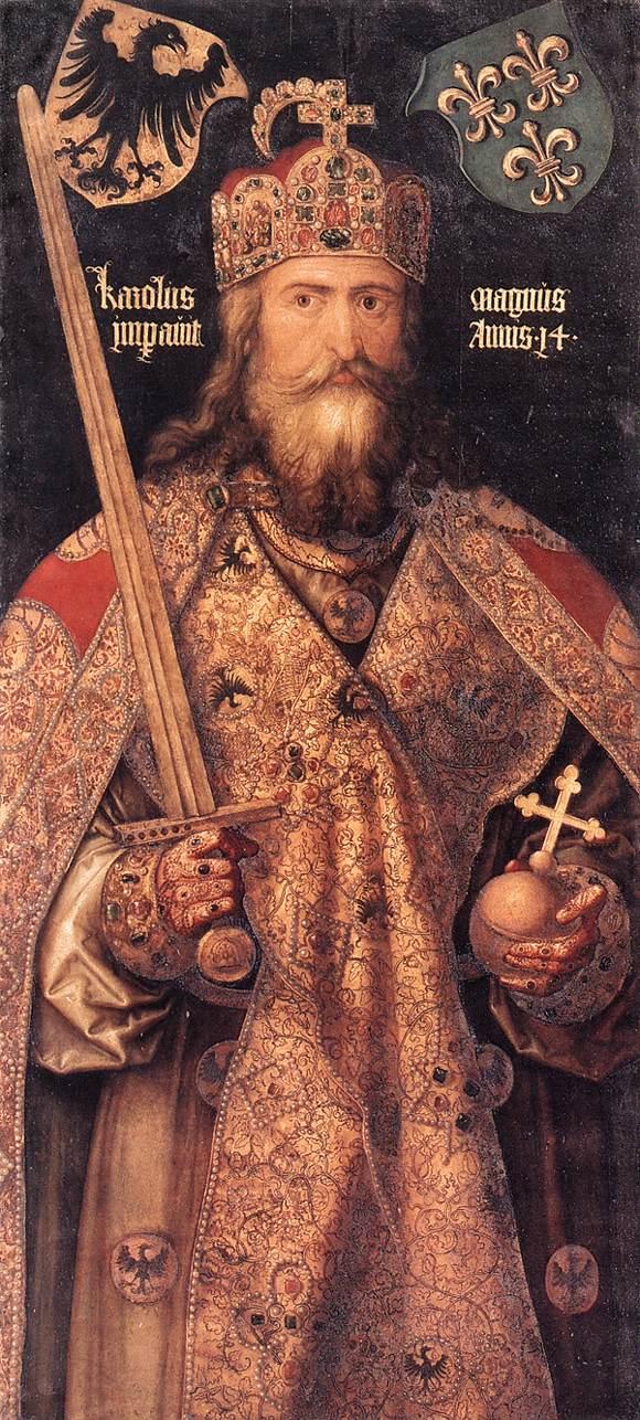 Emperor Charlemagne 1512 | Albrecht Durer | Oil Painting
