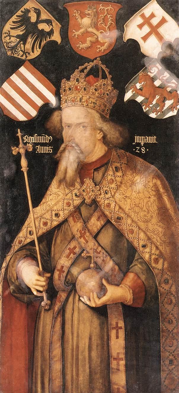 Emperor Sigismund 1512 | Albrecht Durer | Oil Painting