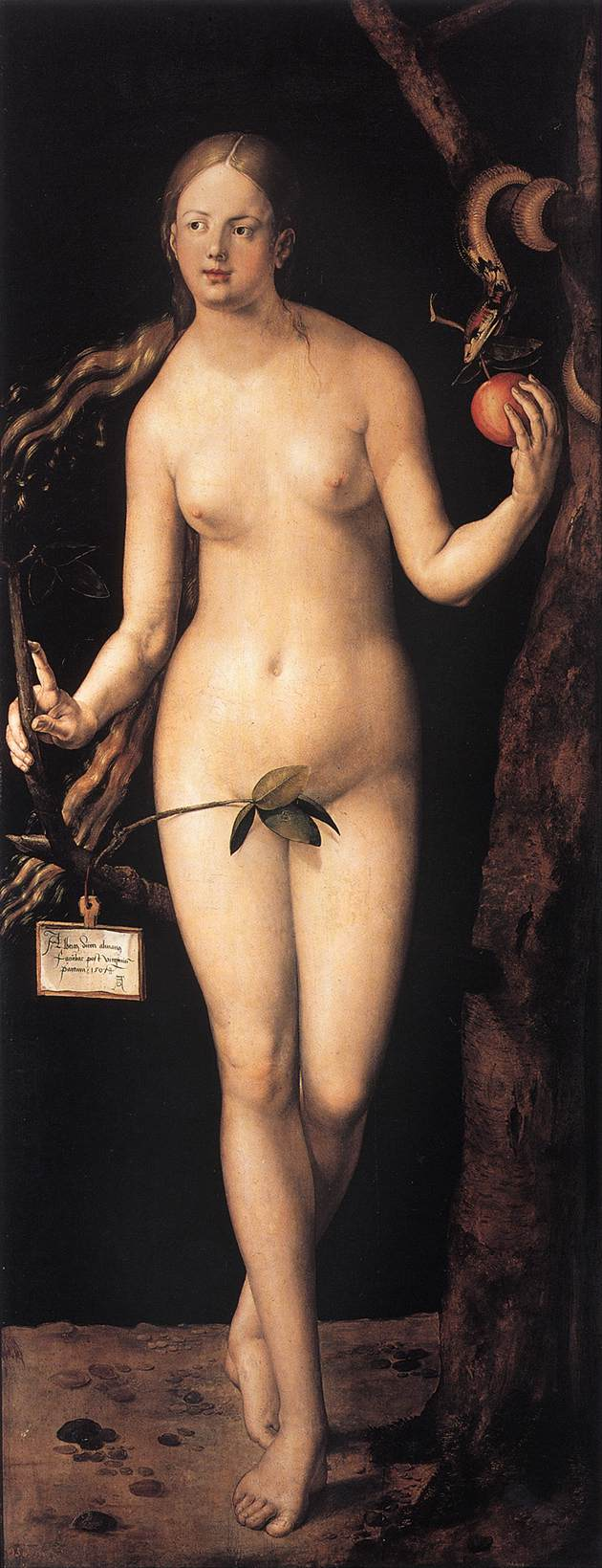 Eve 1507 | Albrecht Durer | Oil Painting