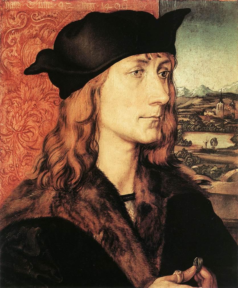 Hans Tucher 1499 | Albrecht Durer | Oil Painting