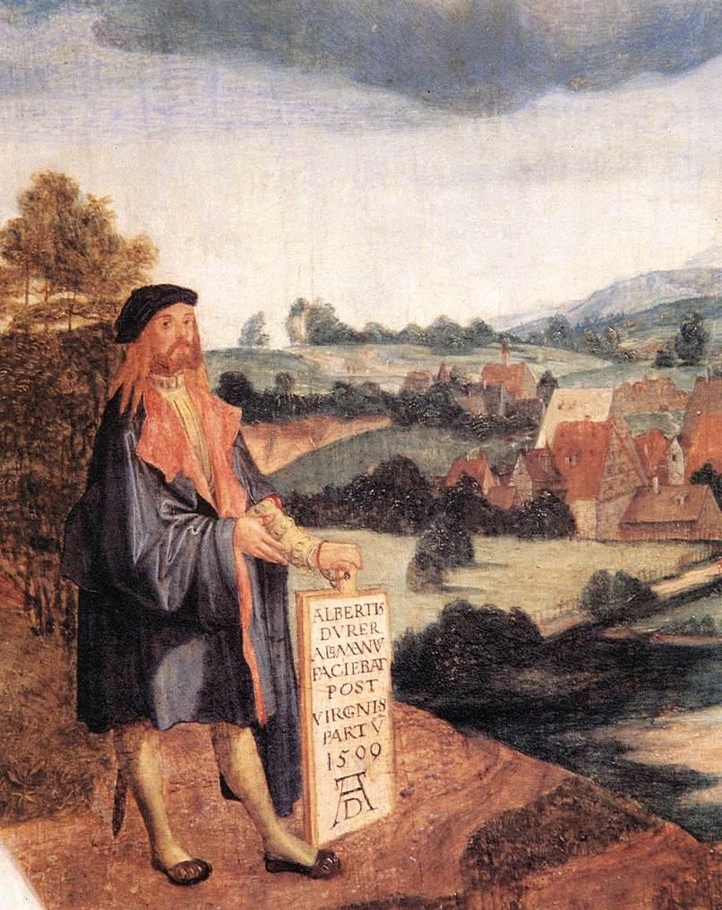 Heller Altar (Detail) 1508-09 | Albrecht Durer | Oil Painting