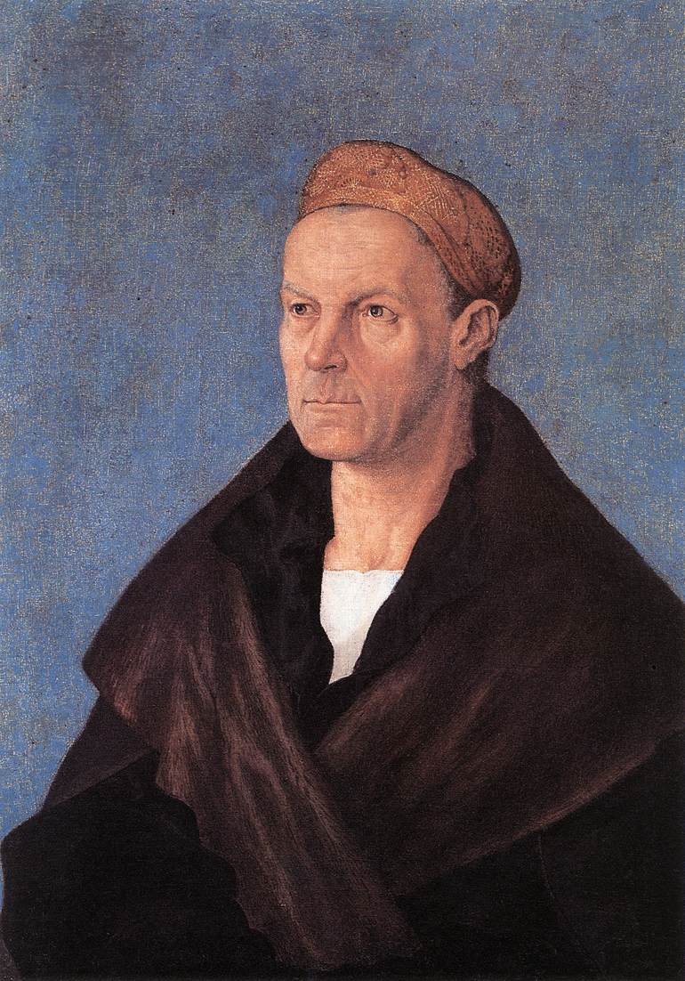 Jakob Fugger The Wealthy 1518-20 | Albrecht Durer | Oil Painting