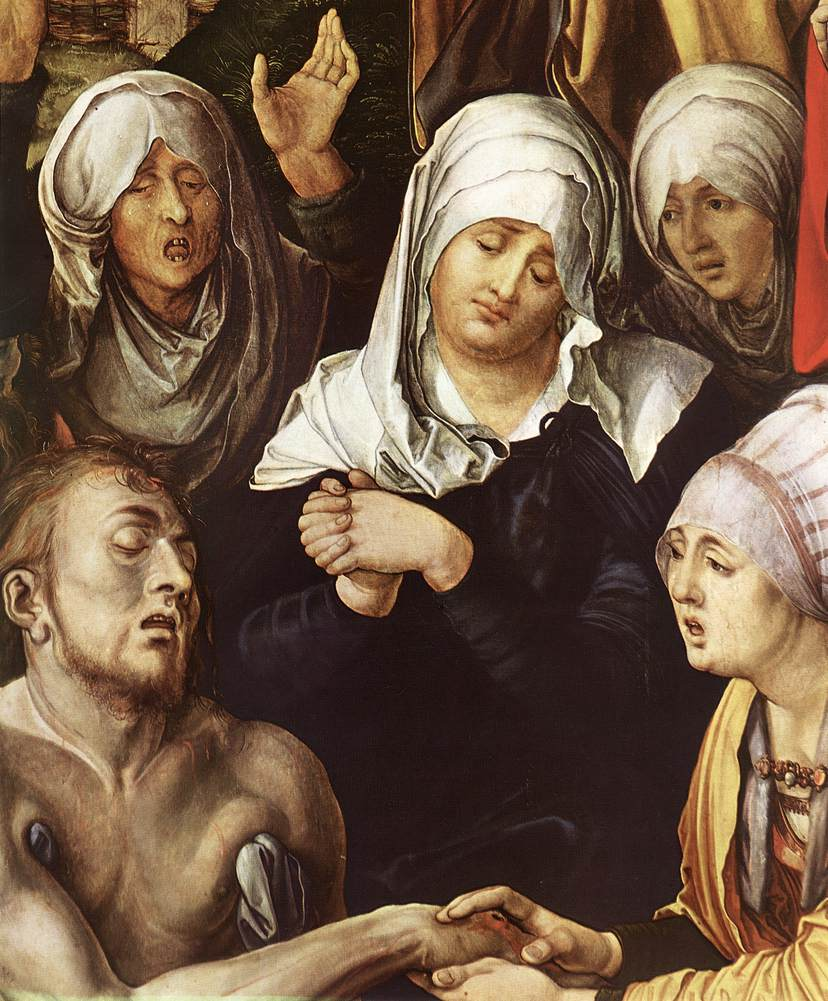 Lamentation For Christ (Detail) 1 1500-03 | Albrecht Durer | Oil Painting