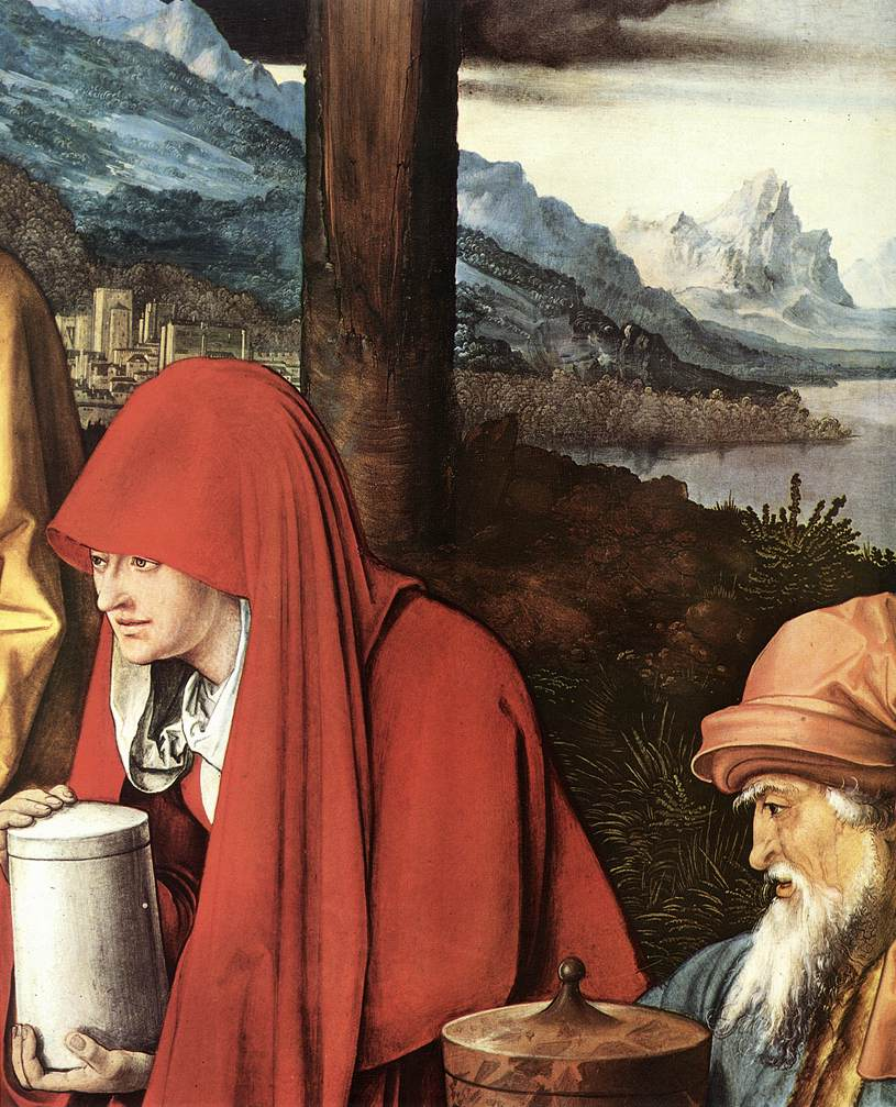 Lamentation For Christ (Detail) 2 1500-03 | Albrecht Durer | Oil Painting