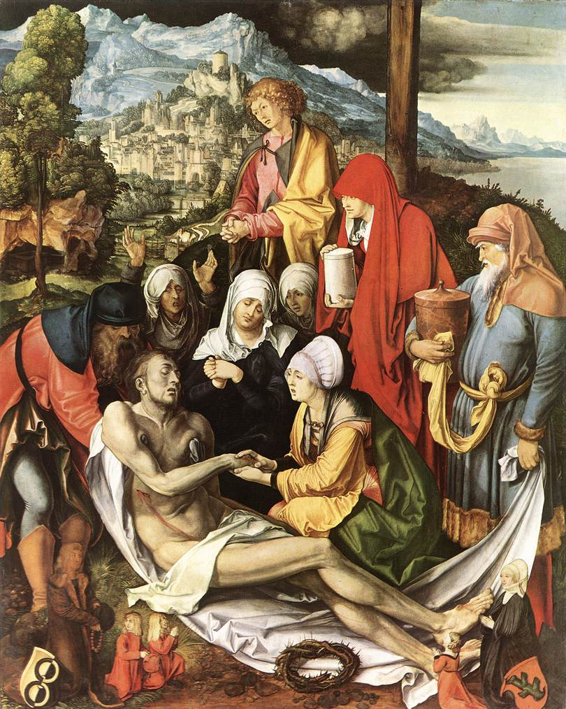 Lamentation For Christ 1500-03 | Albrecht Durer | Oil Painting