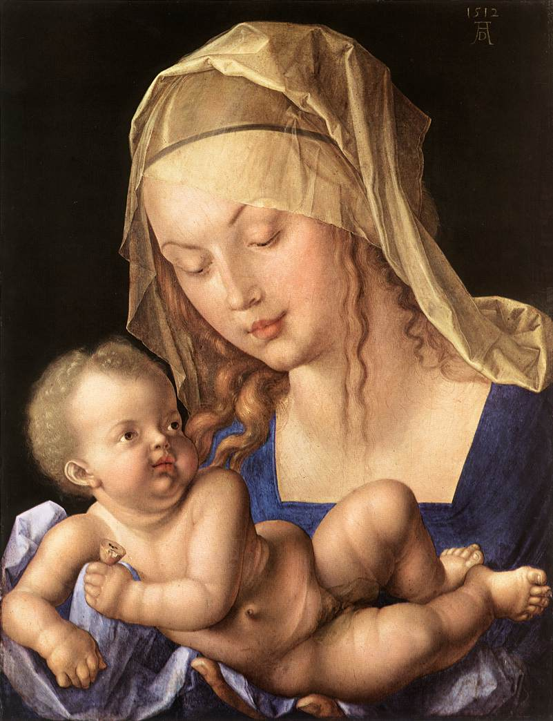 Madonna Of The Pear 1512 | Albrecht Durer | Oil Painting