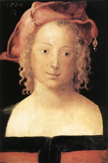 Portrait Of A Young Girl 1507 | Albrecht Durer | Oil Painting