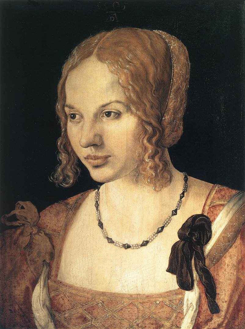 Portrait Of A Young Venetian Woman 1505 | Albrecht Durer | Oil Painting
