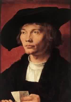 Portrait Of Bernhard Von Reesen 1521 | Albrecht Durer | Oil Painting