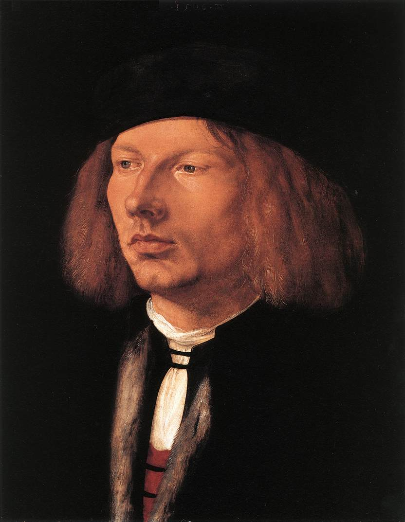 Portrait Of Burkard Von Speyer 1506 | Albrecht Durer | Oil Painting