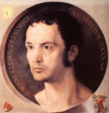 Portrait Of Johannes Kleberger 1526 | Albrecht Durer | Oil Painting