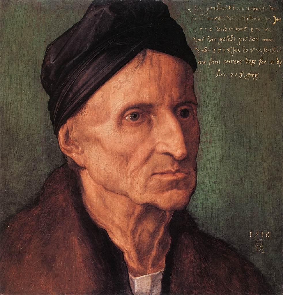 Portrait Of Michael Wolgemut 1516 | Albrecht Durer | Oil Painting