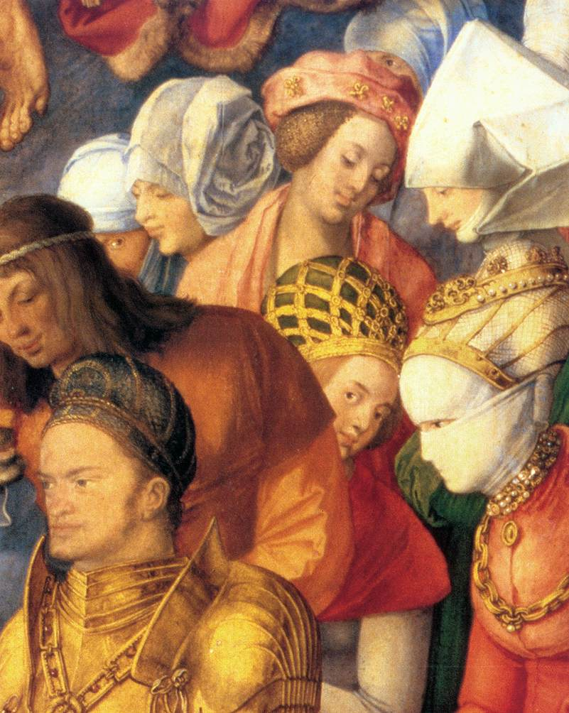 The Adoration Of The Trinity (Detail) 3 1511 | Albrecht Durer | Oil Painting