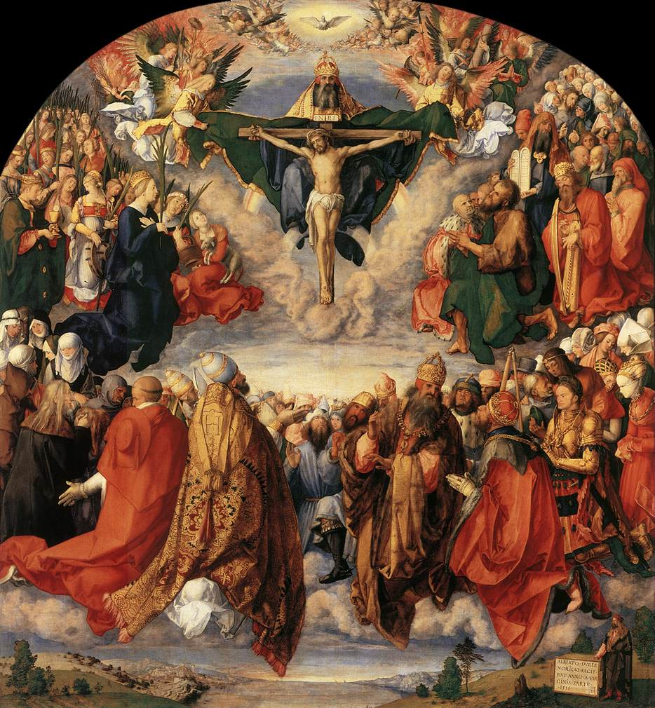 The Adoration Of The Trinity 1511 | Albrecht Durer | Oil Painting