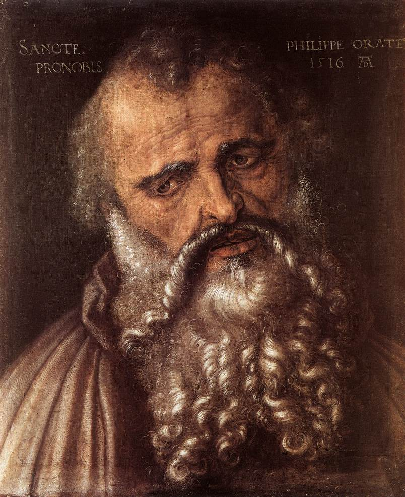 The Apostle Philip 1516 | Albrecht Durer | Oil Painting