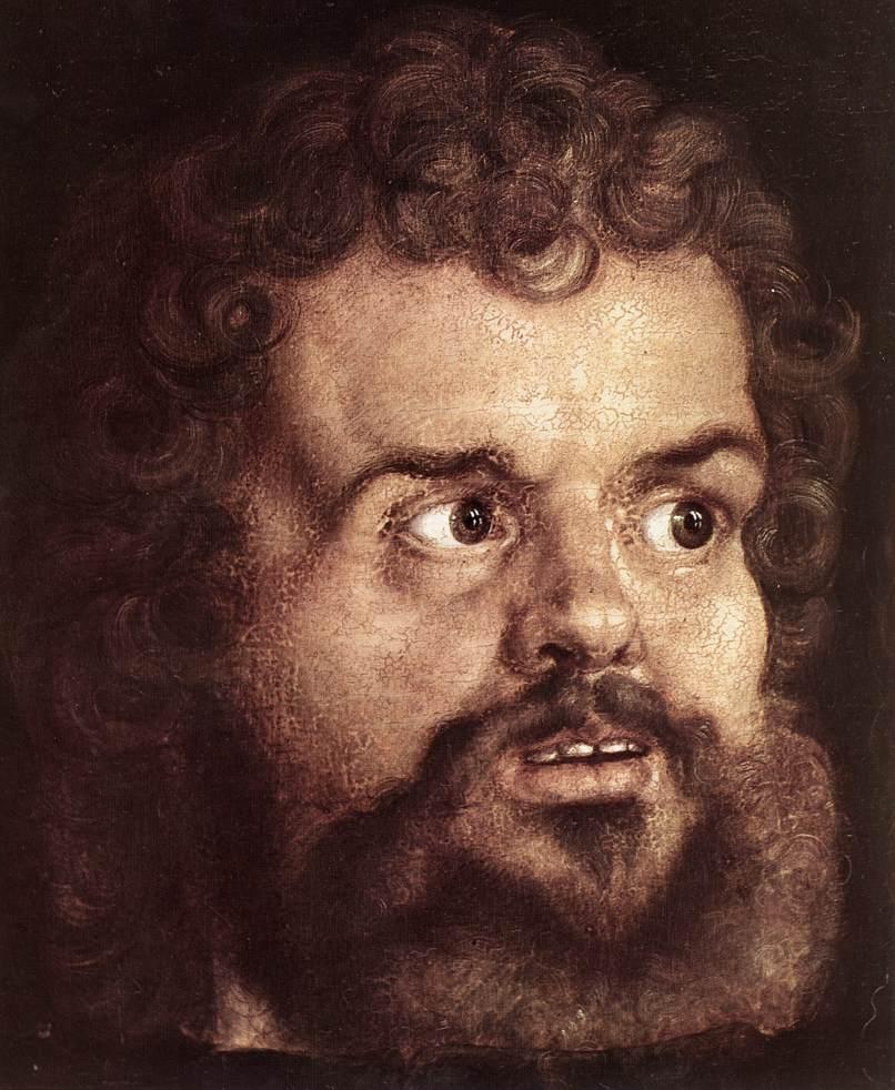 The Four Holy Men (Detail) 1 1526 | Albrecht Durer | Oil Painting