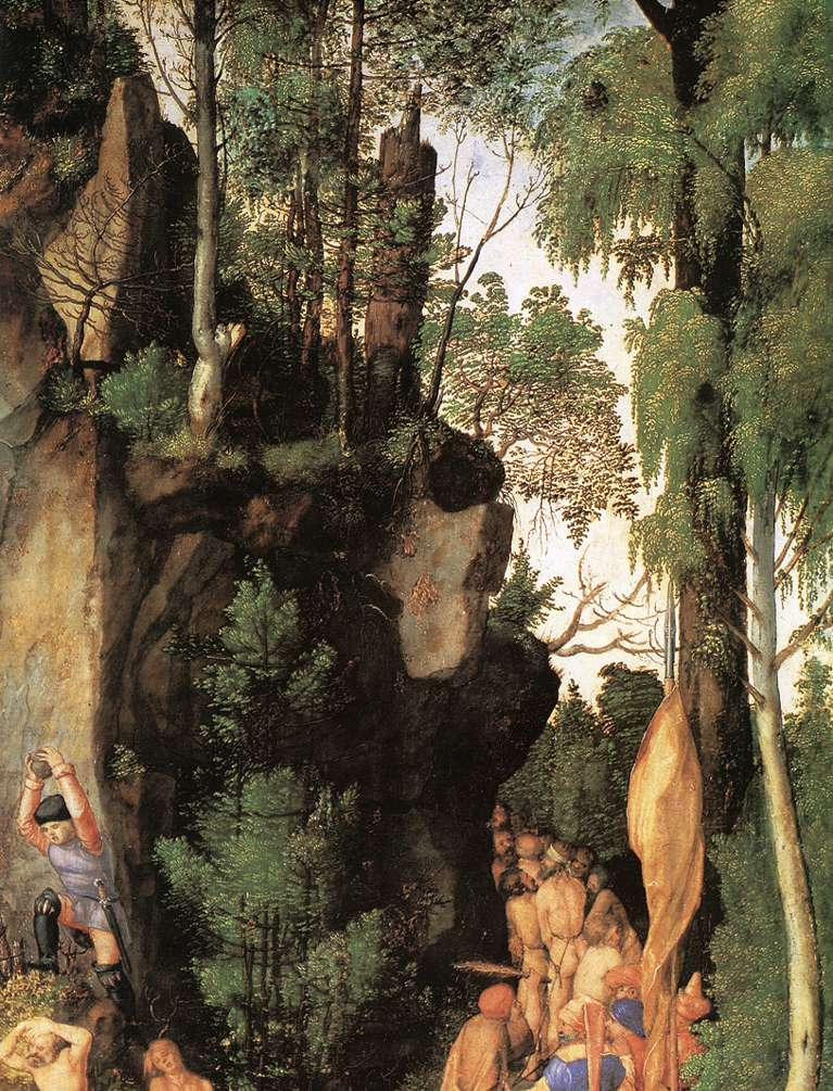 The Martyrdom Of The Ten Thousand (Detail) 2 1508 | Albrecht Durer | Oil Painting