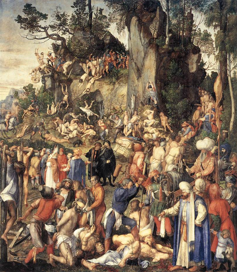 The Martyrdom Of The Ten Thousand 1508 | Albrecht Durer | Oil Painting