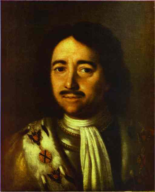 Portrait Of Peter The Great 1772 | Aleksey Antropov | Oil Painting