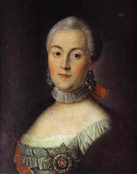 Portrait Of Grand Duchess Catherine Alekseevna Future Empress Catherine Ii The Great 1760s | Aleksey Antropov | Oil Painting