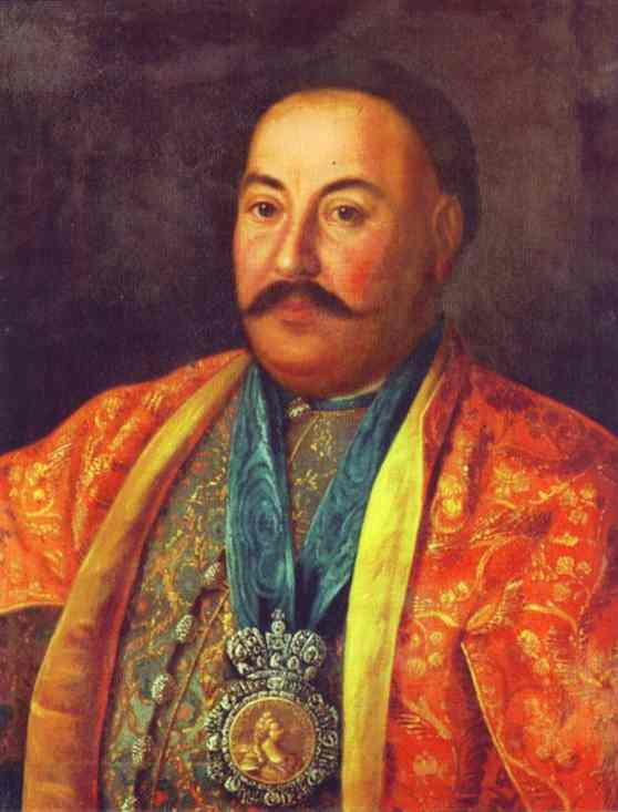 Portrait Of F Krasnoschiokov 1761 | Aleksey Antropov | Oil Painting