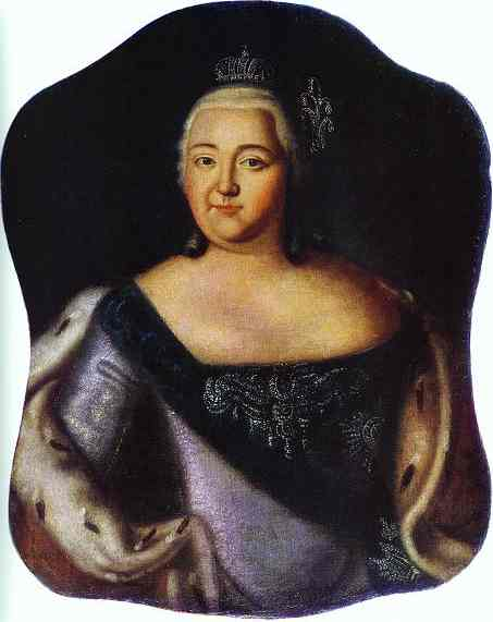Portrait Of Empress Elizaveta Petrovna 1750s | Aleksey Antropov | Oil Painting