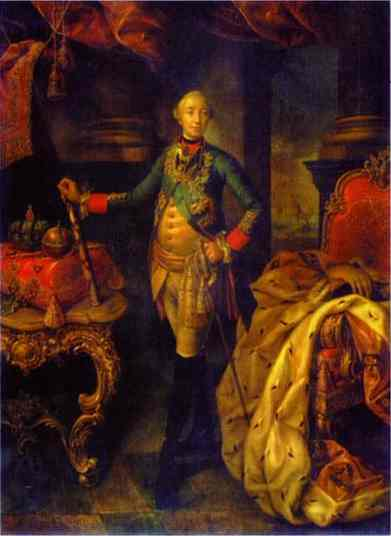 Portrait Of Emperor Peter III 1762 | Aleksey Antropov | Oil Painting