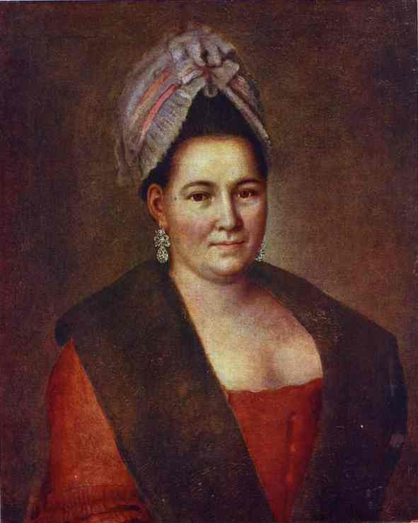 Portrait Of An Unknown Woman 1780s | Aleksey Antropov | Oil Painting