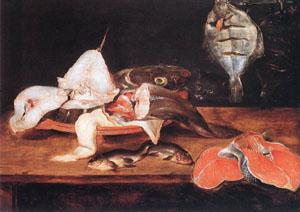 Still-Life With Fish | Alexander Adriaenssen | Oil Painting
