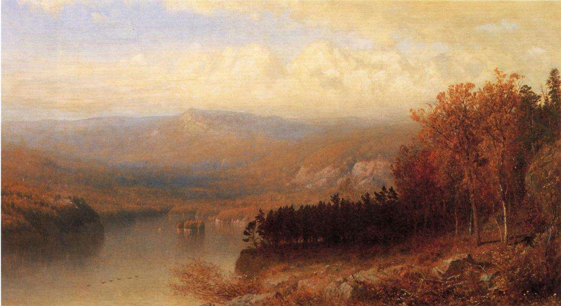 Adirondack Scene in Autumn 1871 1872 | Alexander Helwig Wyant | Oil Painting