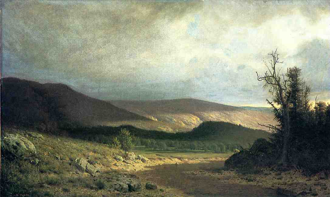Sun in Kentucky   Alexander Helwig Wyant   Oil Painting