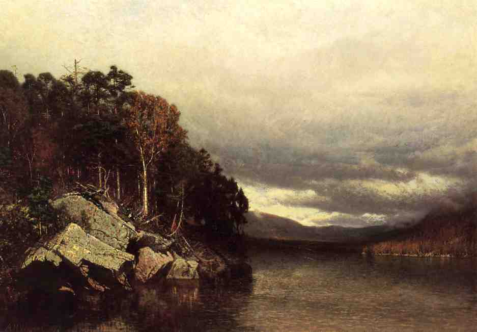 Lake George 1872 | Alexander Helwig Wyant | Oil Painting