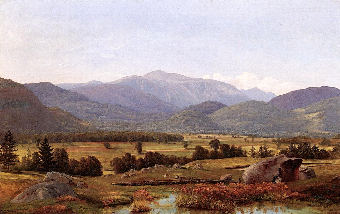 Mount Washigton Valley 1860 | Alexander Helwig Wyant | Oil Painting