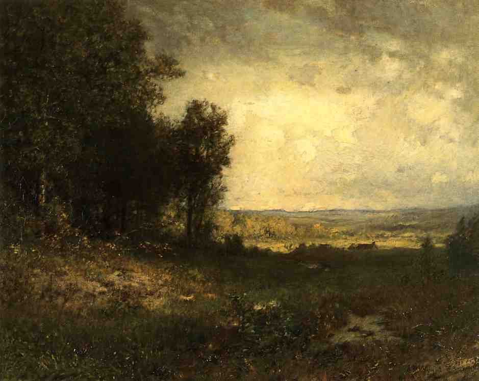 The End of Summer | Alexander Helwig Wyant | Oil Painting