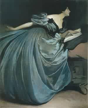 Alethea 1895 | John White Alexander | Oil Painting