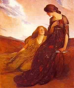 Memories 1903 | John White Alexander | Oil Painting