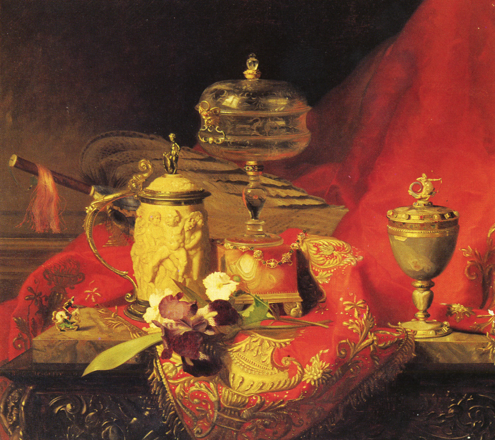 (French) 1830 to 1901 A Still Life | Alexandre Blaise Desgoffe | Oil Painting