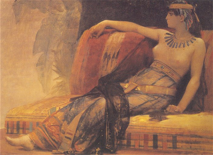 Cleopatra (study) | alexandre cabanel | Oil Painting